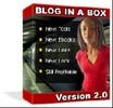 Thumbnail *New* - Blog In a Box 2.0 Software