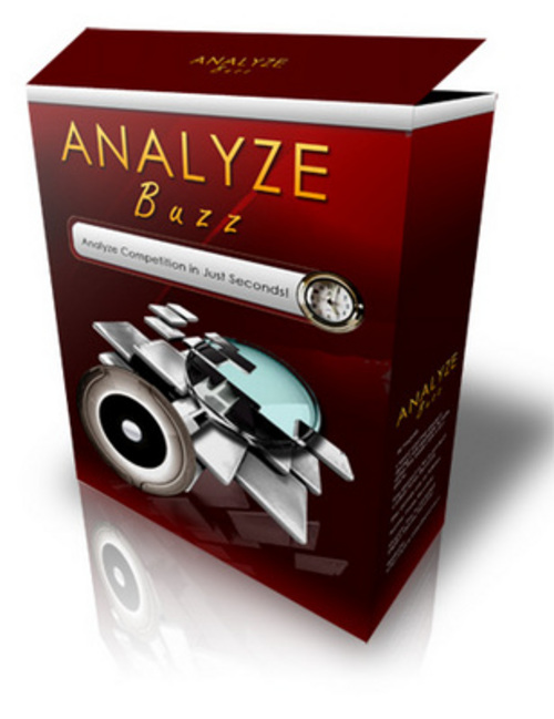 Product picture NEW FOR 2017 - Analyze Buzz !!