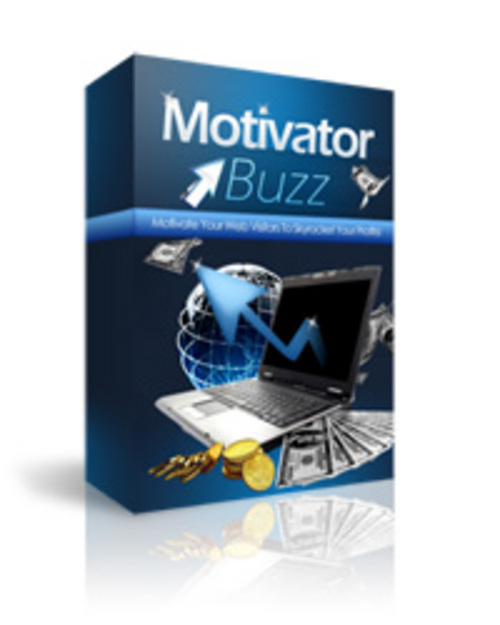 Product picture Motivator Buzz Software - *New! - Master Resale Rights
