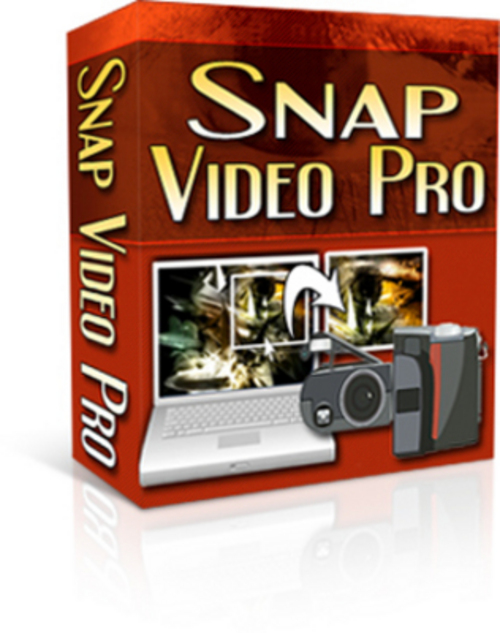 Product picture Snap Video Pro - with Resell rights****New!