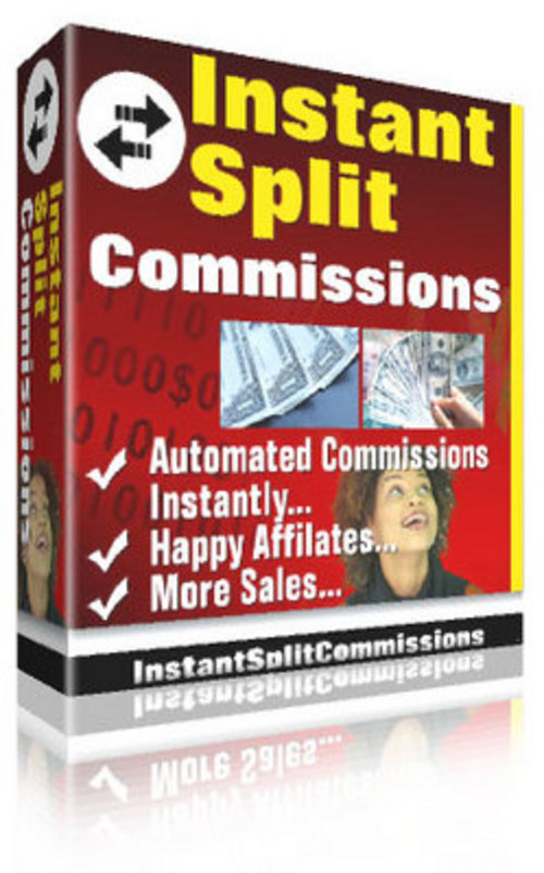 Product picture Instant Split Commissions with Master Resell Rights - *New!