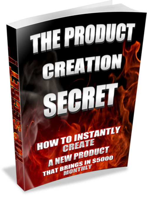 Product picture *NEW* For 2017! - The Product Creation Secret