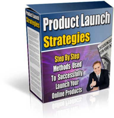 Product picture *New* For 2017! - Product Launch Strategies