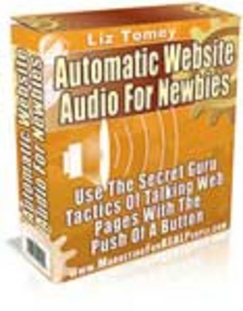 Product picture *Powerful!* - Automatic Website Audio for Newbies